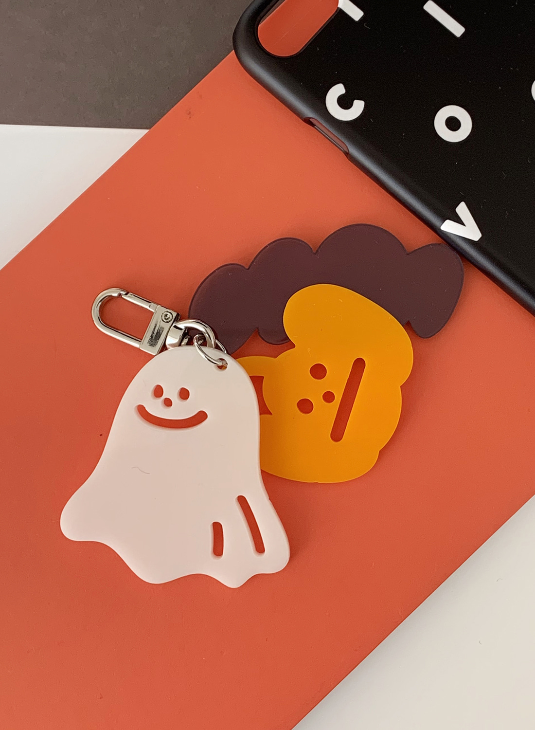 [공홈 한정판매 -10.31] Halloween Friends Keyring