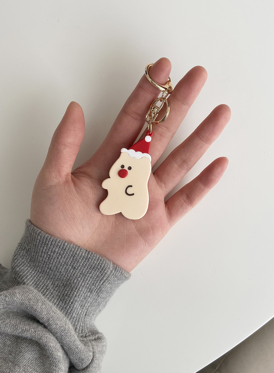 Happy New Bear Keyring