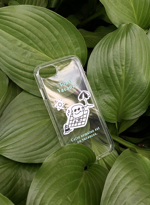 [See you Next Summer!] Toast Vacance Case (Cool Mint)