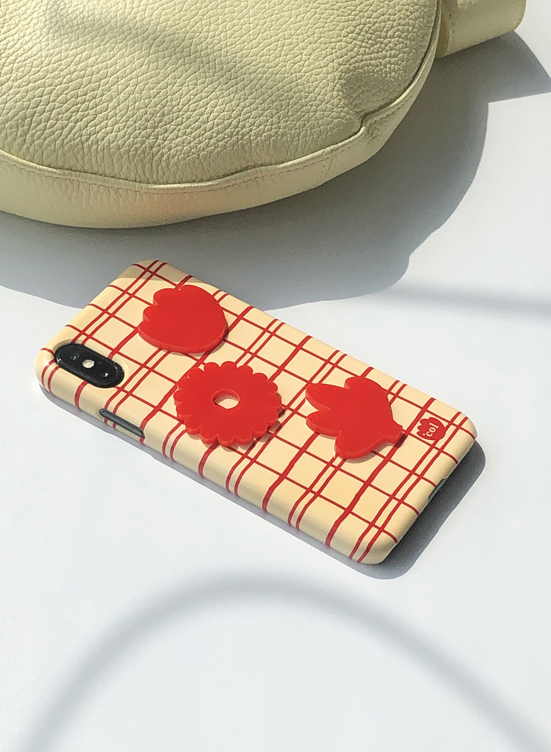Acrylic Point Case (Flower Rouge)