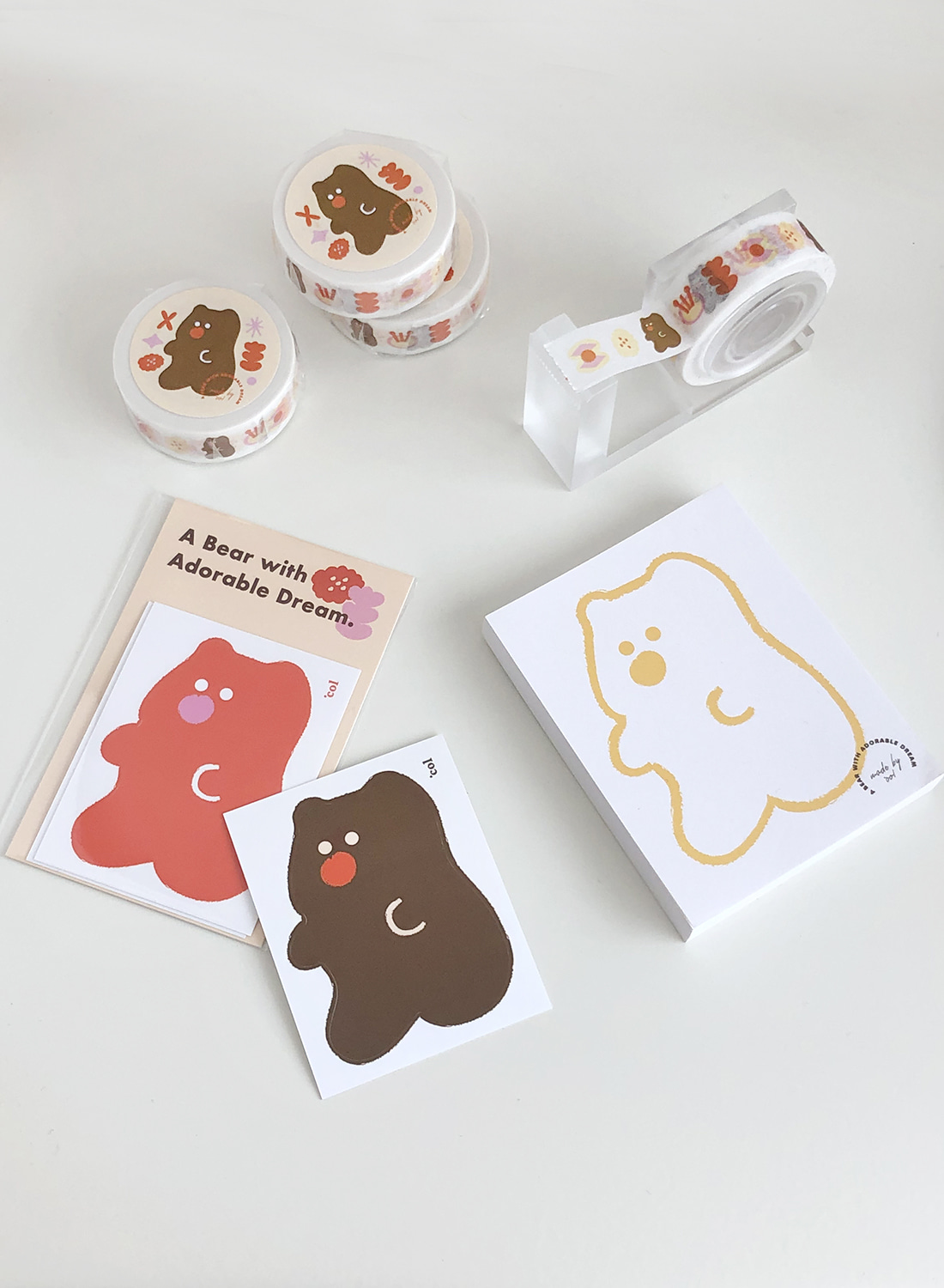 Dreaming Bear Stationery (단품&세트)