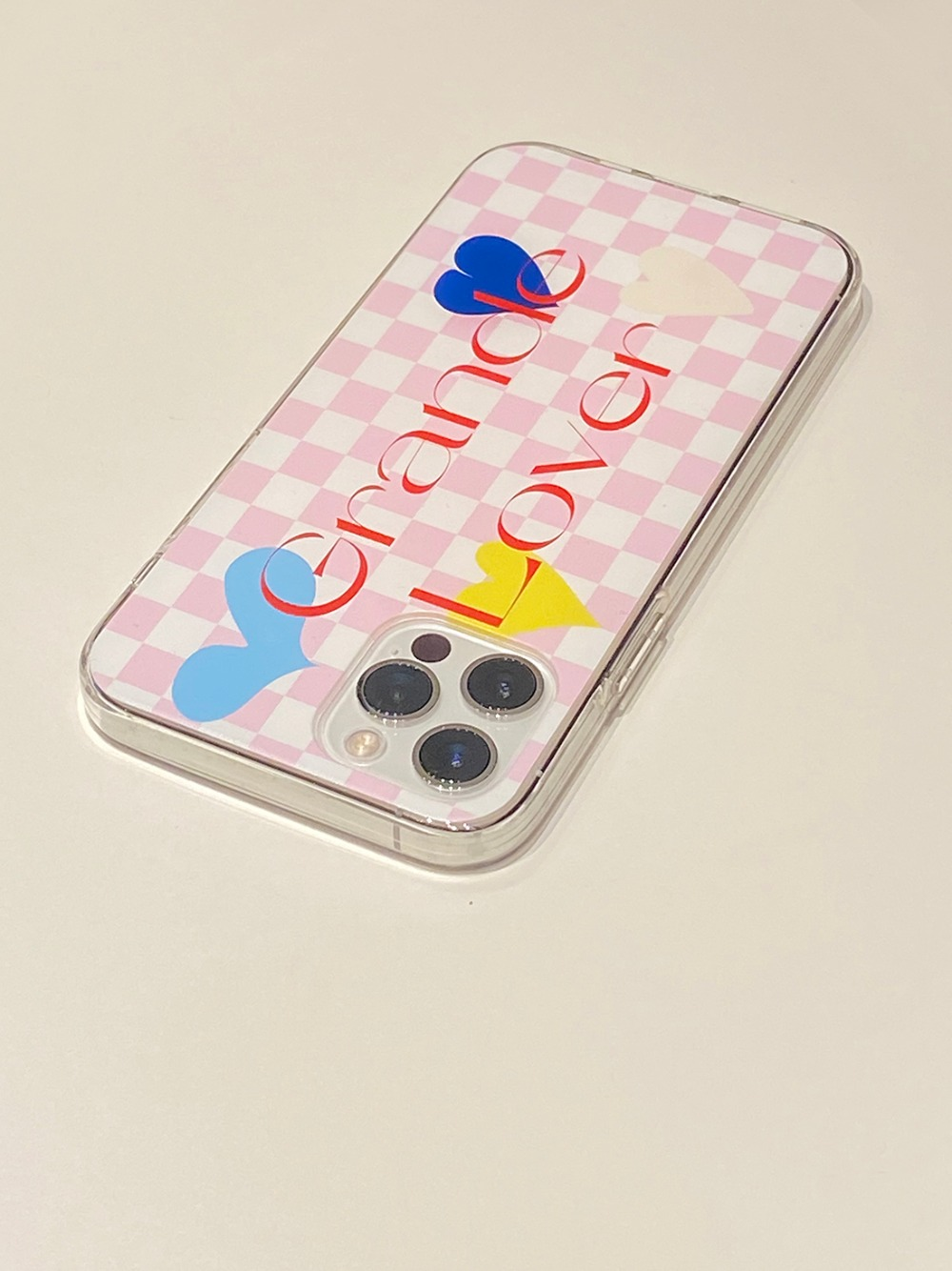 Grande Lover Phone Case (Jelly Type)